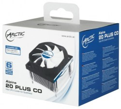 Kuleri: Arctic cooling Alpine 20 PLUS CO Intel 2011