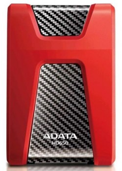 Eksterni hard diskovi: ADATA 1TB DashDrive HD650 Red