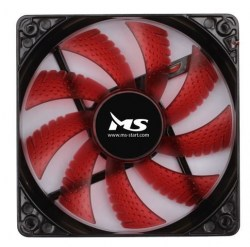 Ventilatori: MS COOL 12cm LED RED