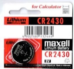 Baterije: Maxell CR2430 1PC BLISTER