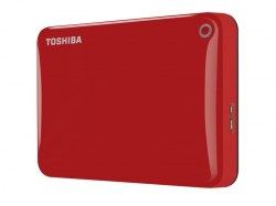 Eksterni hard diskovi: Toshiba 1TB Canvio Connect II HDTC810ER3AA Red