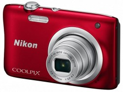 Digitalne kamere: Nikon Coolpix A100 Red