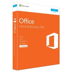 Aplikativni softver: Microsoft Office Home and Business 2016 32/64 English CEE Only DVD T5D-02710
