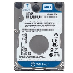Hard diskovi za notebook-ove: WD 500GB 5000LPCX Blue