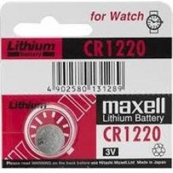 Baterije: Maxell CR1220 1PC BLISTER