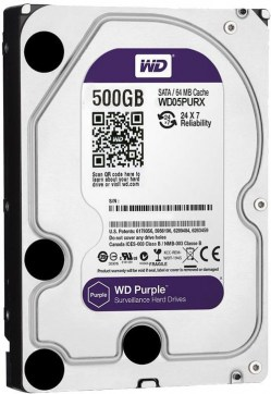 Hard diskovi SATA: WD 500GB 05PURX Purple