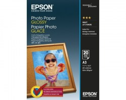 Papir: EPSON A3 Photo Paper Glossy 20 Sheets S042536