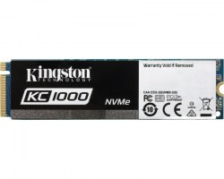 M.2 SSD: Kingston 480GB SSD SKC1000/480G
