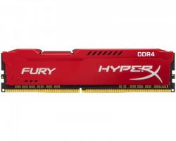 Memorije DDR 4: DDR4 8GB 2666MHz Kingston HX426C16FR2/8 HyperX Fury Red