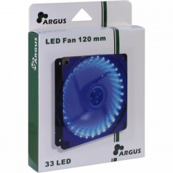 Ventilatori: Inter-Tech Argus 120mm Blue