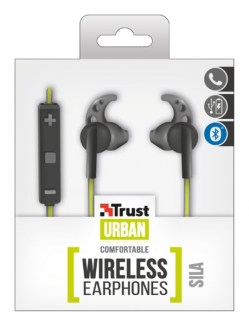 Mikrofoni i slušalice: Trust Sila Wireless black/lime