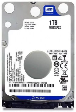 Hard diskovi za notebook-ove: WD 1TB 10SPZX Blue