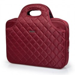 Torbe: Port Case Firenze Red 15.6