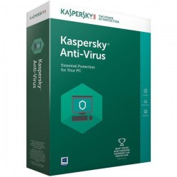 Antivirusni softver: Kaspersky Antivirus 1 device 1 year Renewal Box KL1171X5AFR