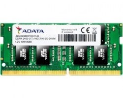 Memorije za notebook-ove: DDR4 4GB 2400MHz SO-DIMM ADATA AD4S2400W4G17-B
