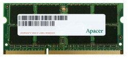 Memorije za notebook-ove: DDR3 8GB 1600MHz SO-DIMM Apacer DV.08G2K.KAM