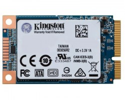 m-SATA SSD: Kingston 120GB SSD SUV500MS/120G SSDnow UV500