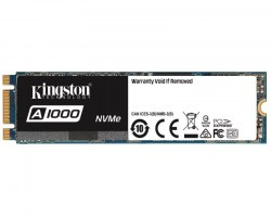 M.2 SSD: Kingston 480GB SSD SA1000M8/480G SSD A1000