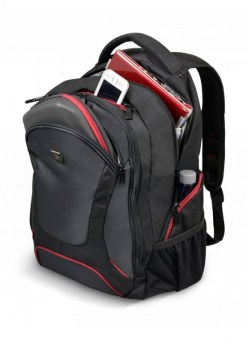 Torbe: Port case Courchevel Backpack 17.3'' Black 160511