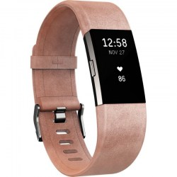 Pametni satovi: Fitbit Charge 2 Leather Band FB160LBPKL
