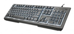 Tastature: Trust Lito Backlit Multimedia Keyboard