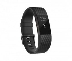 Pametni satovi: Fitbit Charge 2 Fitness Activity Tracker FB407GMBKL-EU