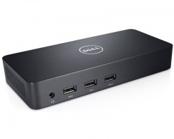 Postolja za notebook-ove: Dell USB 3.0 Ultra HD Triple Video Docking Station D3100