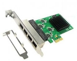 Mrežne kartice: E-Green PCI-Ex 4-port Gigabit Ethernet