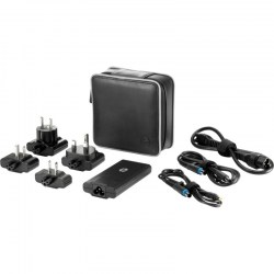 AC adapteri: HP 65W Smart Travel AC Adapter INTL J0E43AA