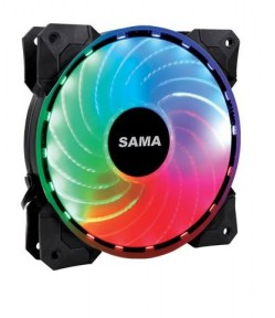 Ventilatori: SAMA PC RGB RAINBOW kit