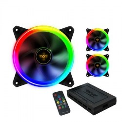 Ventilatori: PowerLogic NEURON AURORA RING I RGB