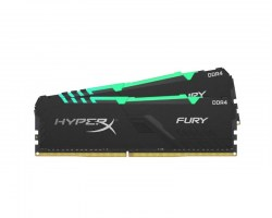 Memorije DDR 4: DDR4 32GB 2400MHz Kingston HX424C15FB3AK2/32 HyperX Fury RGB