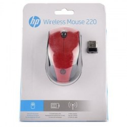 Miševi: HP Wireless Mouse 220 Sunset Red 7KX10AA