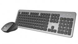 Tastature: Trust Raza Wireless Silent Keyboard & Mouse