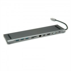 Postolja za notebook-ove: Rotronic USB 3.2 Gen 2 Typ C Multiport Docking Station 12.02.1117-2