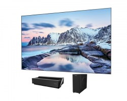 LED televizori: Hisense H100LDA Smart 4K Ultra HD digital Laser TV, LTS100MHEU panel, VW6 zvučn