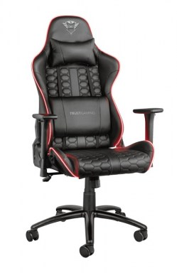 Dodaci za igranje: Trust GXT 717 Rayza RGB-Illuminated Gaming Chair
