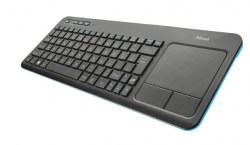 Tastature: Trust Veza Wireless Keyboard with touchpad