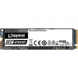 M.2 SSD: Kingston 500GB SSD SKC2500M8/500G SSDNow KC2500 series