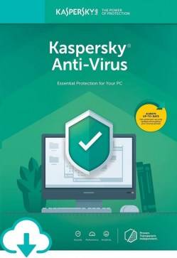 Antivirusni softver: Kaspersky Antivirus 2020 1dev 1Y Base Box KL1171X5AFS-20