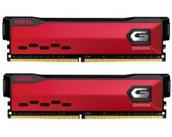Memorije DDR 4: DDR4 16GB 3600MHz Geil GAOR416GB3600C18ADC Orion AMD Edition Red