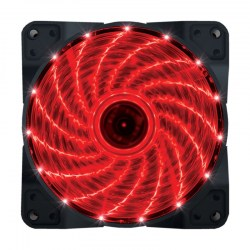 Ventilatori: Zeus 12025 120x120mm LED Crveno