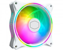 Ventilatori: Cooler Master Master Fan HALO White edition MF120 MFL-B2DW-18NPA-R1