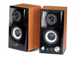 Zvučnici 2+0: Genius SP-HF500A 14W RMS Brown wood