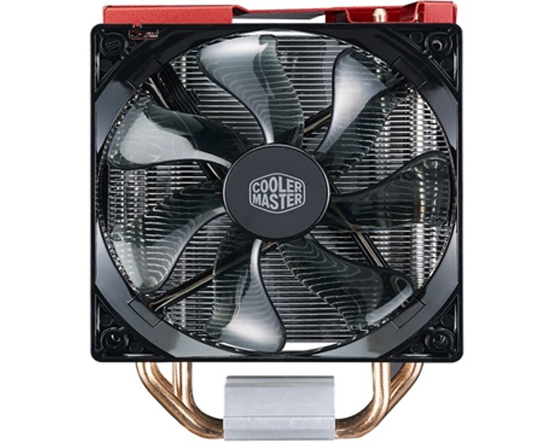 Kuleri: Cooler Master Hyper 212 LED Turbo Red Cover RR-212TR-16PR-R1