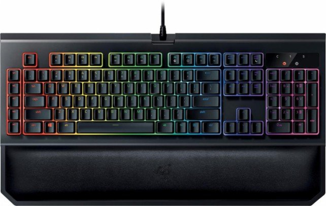 Tastature: Razer RZ03-02031600-R3M1 BlackWidow Chroma V2 Orange Switch