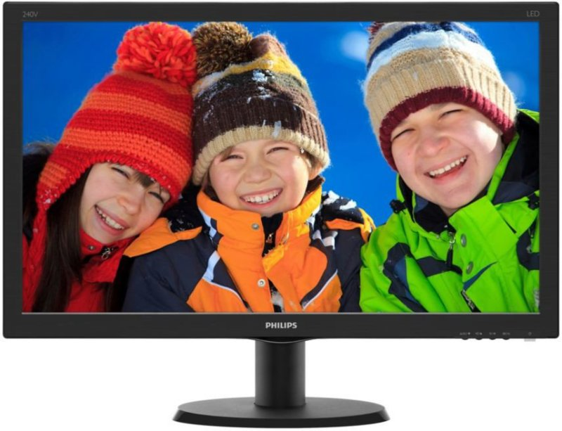 Monitori: Philips 240V5QDAB