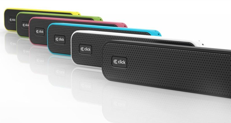 Zvučnici 2+0: Click BS-L1 bluetooth green