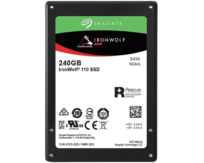 Hard diskovi SSD: Seagate 240GB SSD ZA240NM10011 IronWolf 110